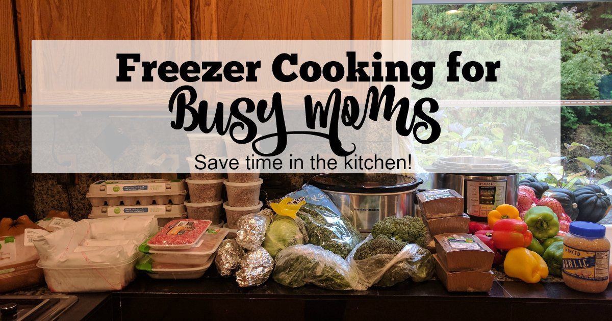 Once a month meals is the perfect way for busy moms to meal plan. Freezer cooking lets you have healthy recipes with minimal work.