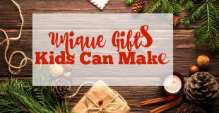 Creative Gifts Kids Can Make Right Now