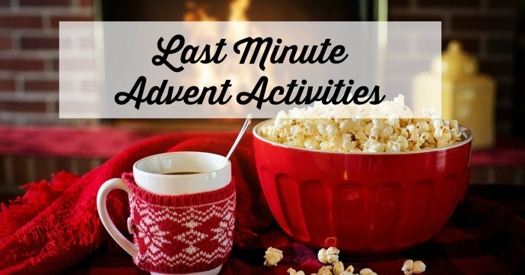 These last minute advent activities require no prep! They are perfect for busy days. #adventactivities #Christmas