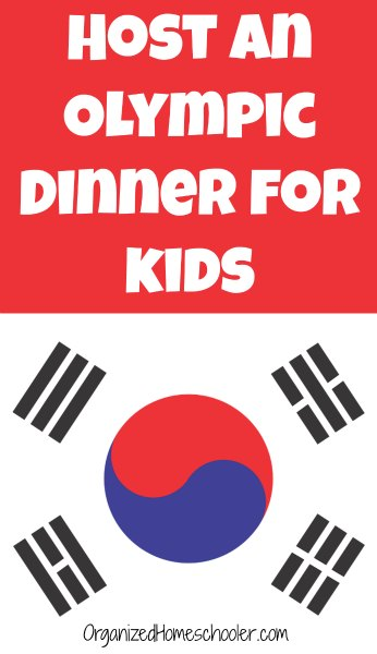 This Olympic dinner for kids is perfect for getting kids excited about the Olympics! #Olympics #WinterOlympics