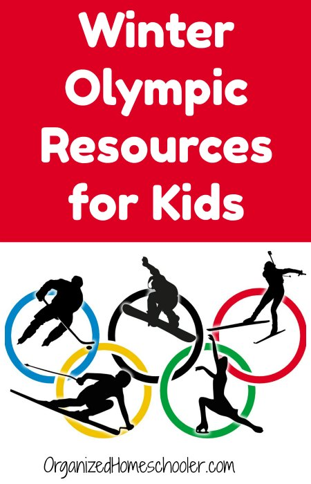 These Winter Olympic Resources for Kids will get your kids ready to watch the Olympics! #WinterOlympics #Olympics