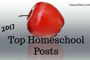These are the top homeschool posts of 2017!