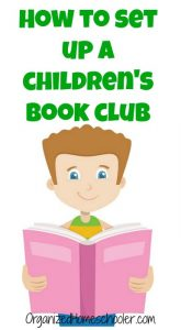 Start a children's book club with these easy steps. #bookclub #homeschool