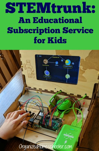 STEMtrunk is an educational subscription service box for kids! Perfect for homeschoolers or to keep kids learning during school breaks!