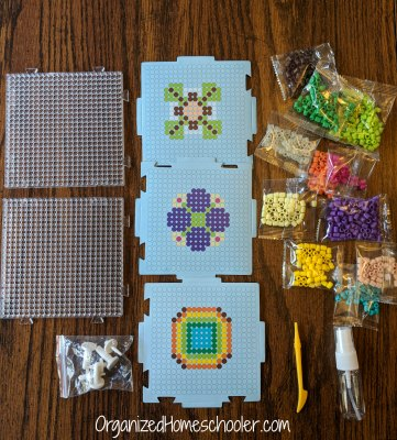 Zirrly super beads area a great way to create 3-d crafts. No ironing required!