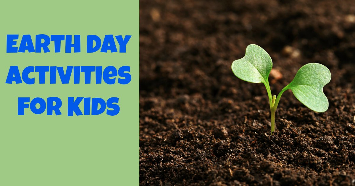 These earth day activities for kids are a great way to celebrate earth day.