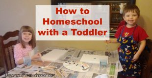 How to Homeschool with a Toddler