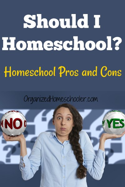 Should I homeschool? Check out this list of homeschooling pros and cons to see if this is the right choice for your family.