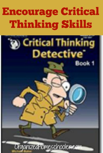 Help your child build critical thinking skills and logical reasoning with The Critical Thinking Detective series.