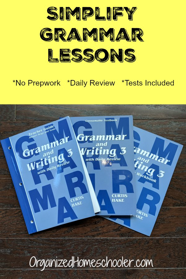 A good homeschool grammar curriculum is part of any language arts plan. Hake Publishing offers a comprehensive and easy to teach grammar and writing curriculum full of daily review.