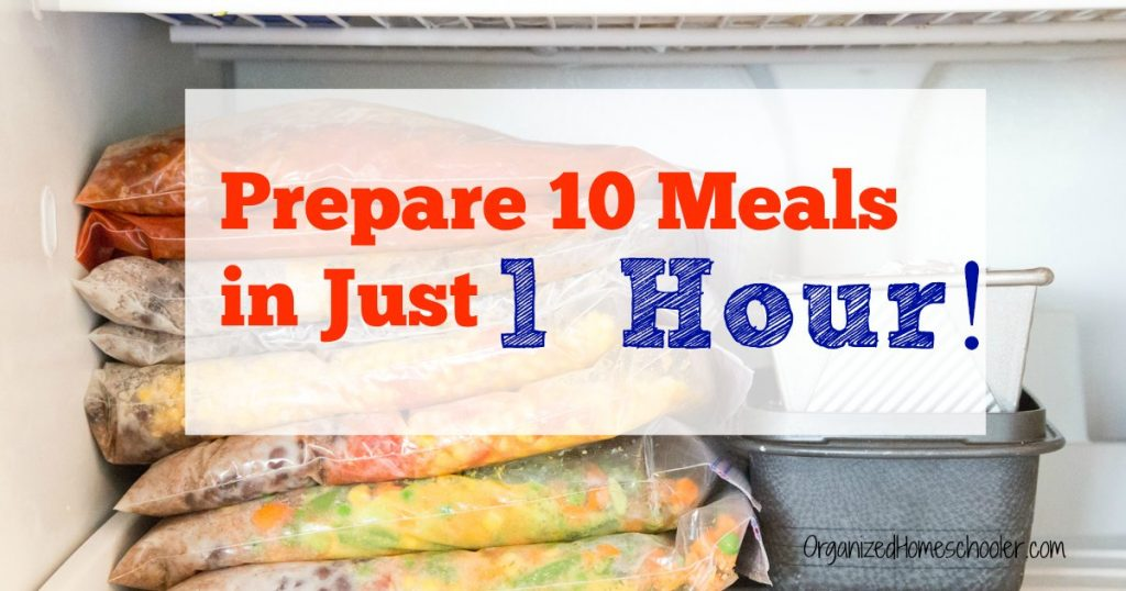 Freezer meals prepared the easy way to stock the freezer