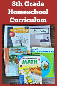 This rigorous 8th grade homeschool curriculum will get kids ready for high school.