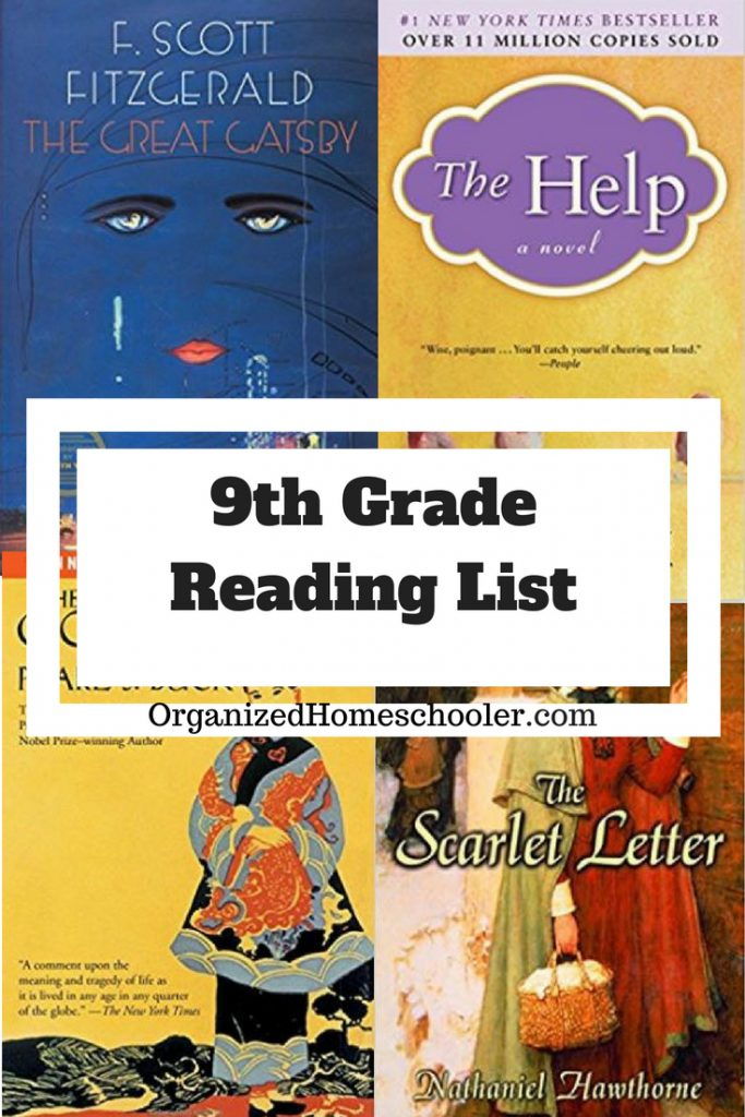 This 9th grade reading list is full of historical fiction literature. These books are a great addition to any high school language arts curriculum. #ninthgrade #highschool