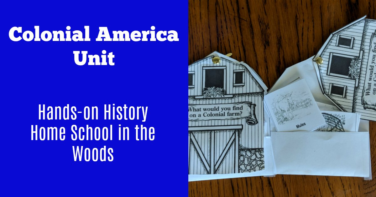 Try hands-on history with this colonial America unit.