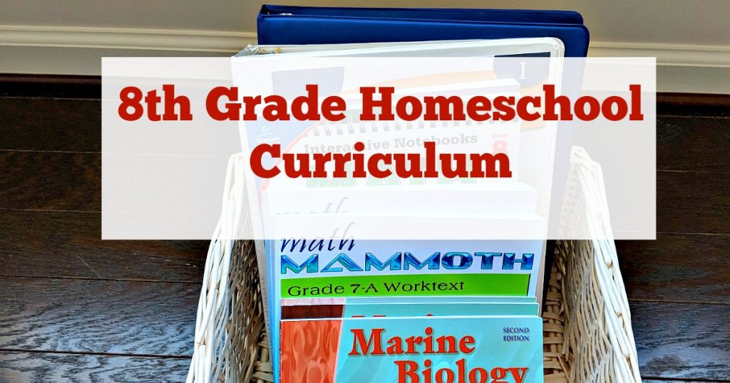 This rigorous 8th grade homeschool curriculum will get kids ready for high school.