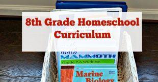 Rigorous 8th Grade Homeschool Curriculum