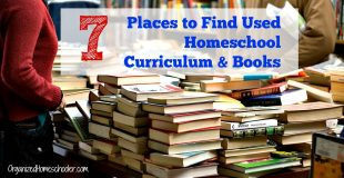 Where to Find Used Homeschool Curriculum
