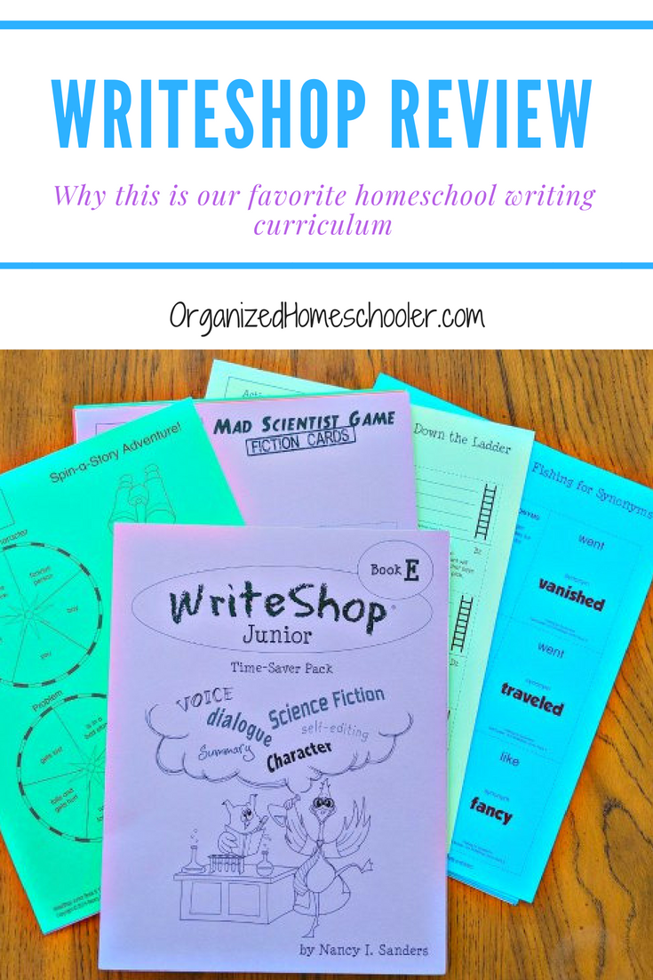This WriteShop review will explain why this is my favorite homeschool writing curriculum. I love this curriculum because it is interesting for the student and easy for the teacher.