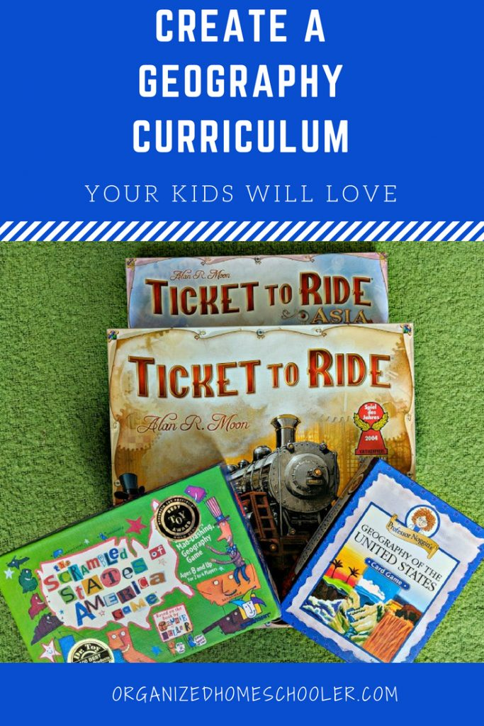 Create a homeschool geography curriculum your kids will love! This can be done through unit studies or sprinkling fun activities through out your week.