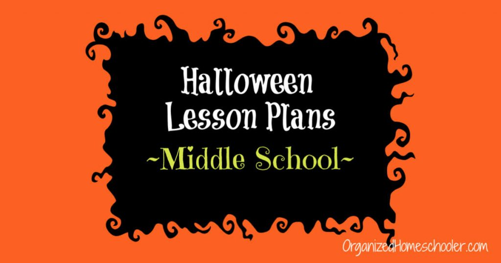 These Halloween lesson plans for middle school contain fun educational Halloween activities for math and language arts.