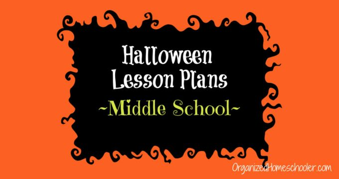 Halloween Lesson Plans for Middle School