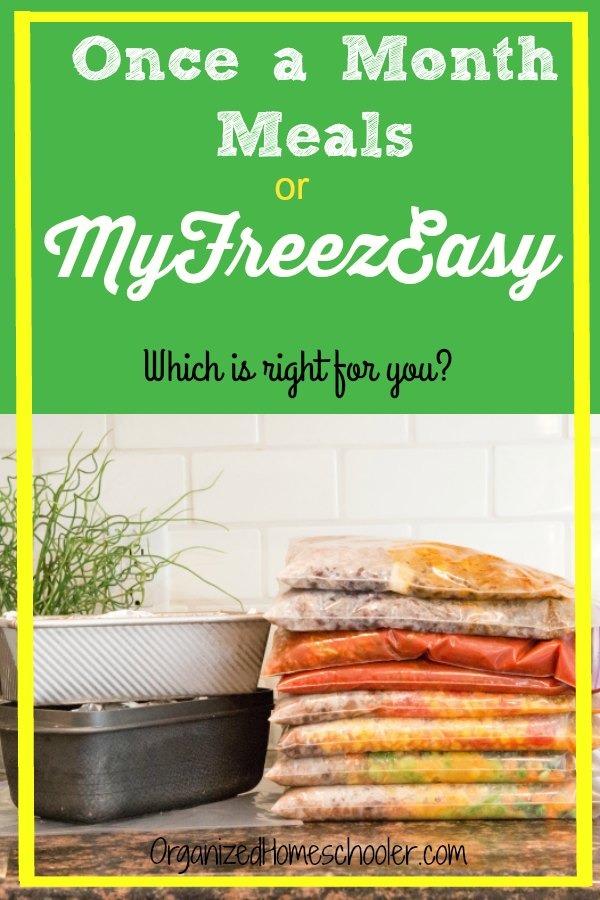 Not sure if you should use Once a Month Meals or MyFreezEasy to fill your freezer? Check out the subtle differences between these two companies. Having freezer meals will help your family eat healthier on busy nights.