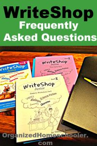 Have any frequently asked questions about WriteShop? This is the place to get them answered! Find out how to choose a starting level in WriteShop, which extras are a must, and whether you really need the teacher's guide. for this popular homeschool writing curriculum.