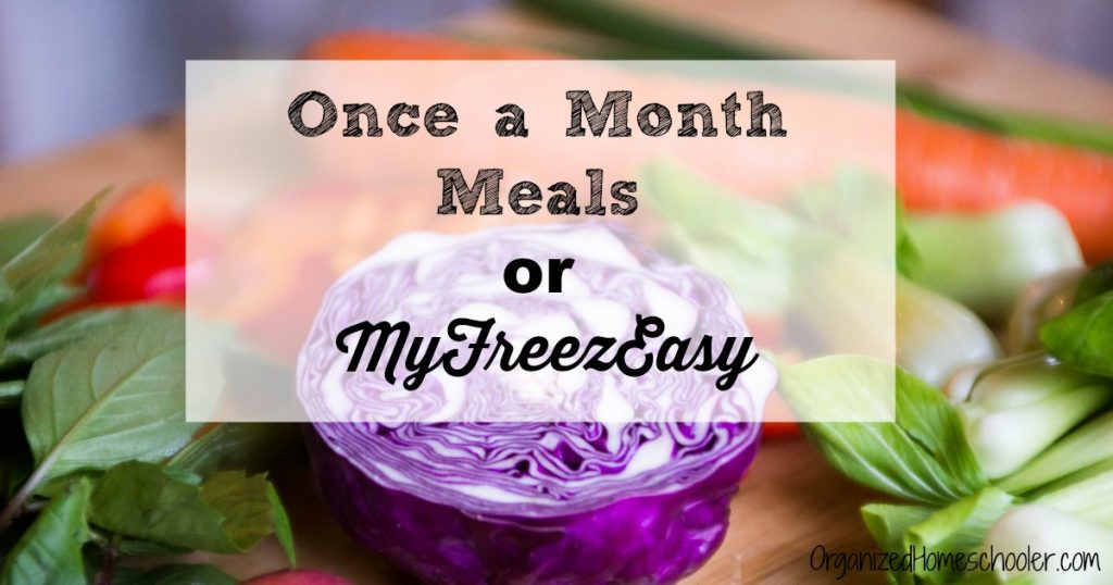 Which is right for me - Once a Month Meals or MyFreezEasy?