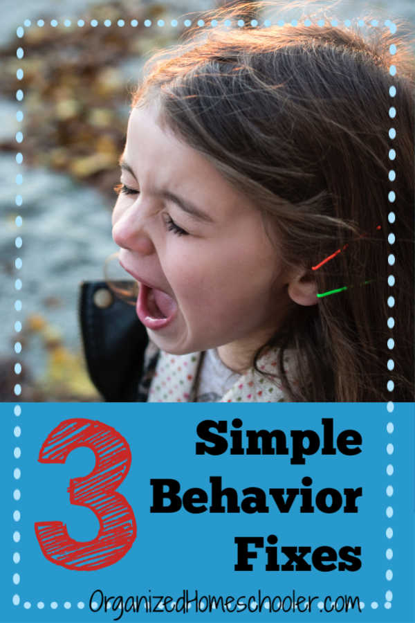 Stop bad attitudes in their tracks with these 3 simple behavior fixes for kids. Sometimes the solution is easy. Check out this parenting hack!
