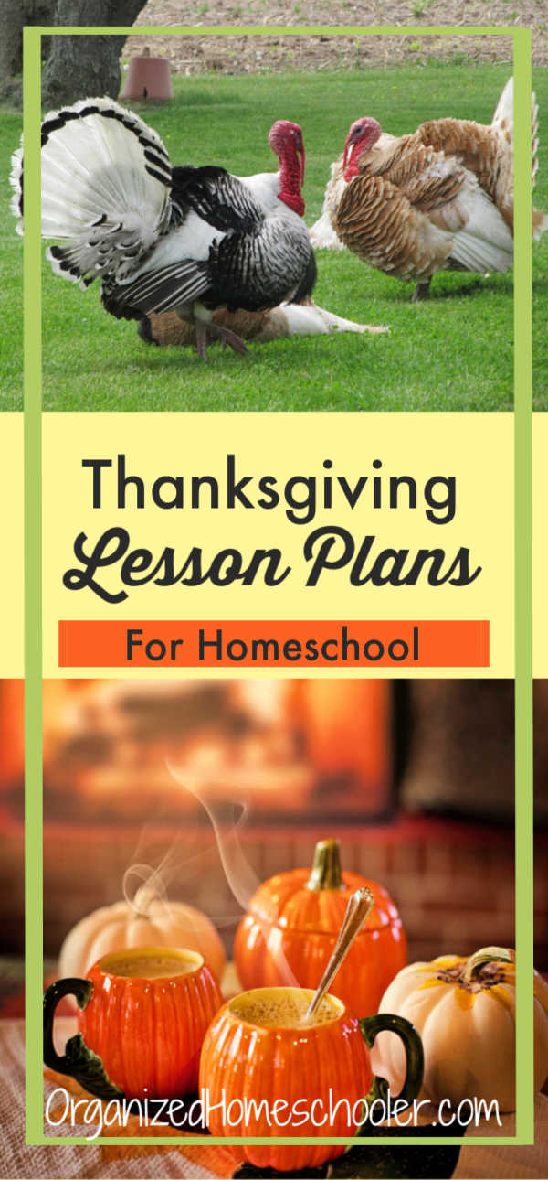 These Thanksgiving lesson plans are perfect for middle school homeschool students. There are Thanksgiving activities for middle school students to cover all of the core subjects - language arts, math, science, and history. CLICK to get great educational Thanksgiving lesson ideas!