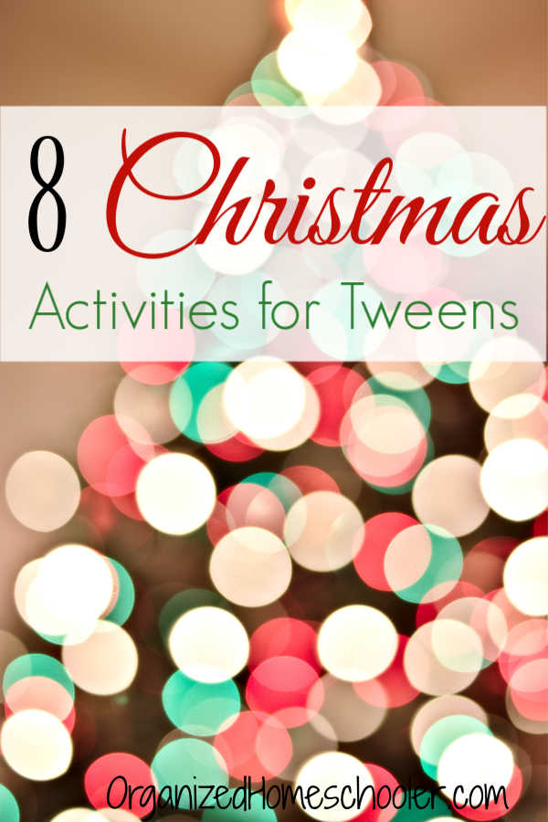 These Christmas Activities for Tweens are the perfect way to create family time leading up to Christmas. We do one Advent activity every day of December.