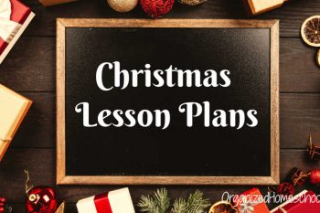 Homeschool Christmas Lesson Plans