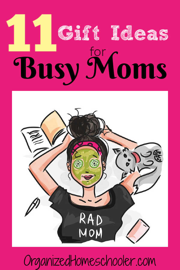 These gift ideas for busy moms are products to make life easier.