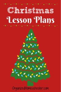 These Christmas Lesson Plans are great for kids of all ages. They are a great addition to any homeschool Christmas plan.