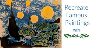 Van Gogh Art Kit for Kids