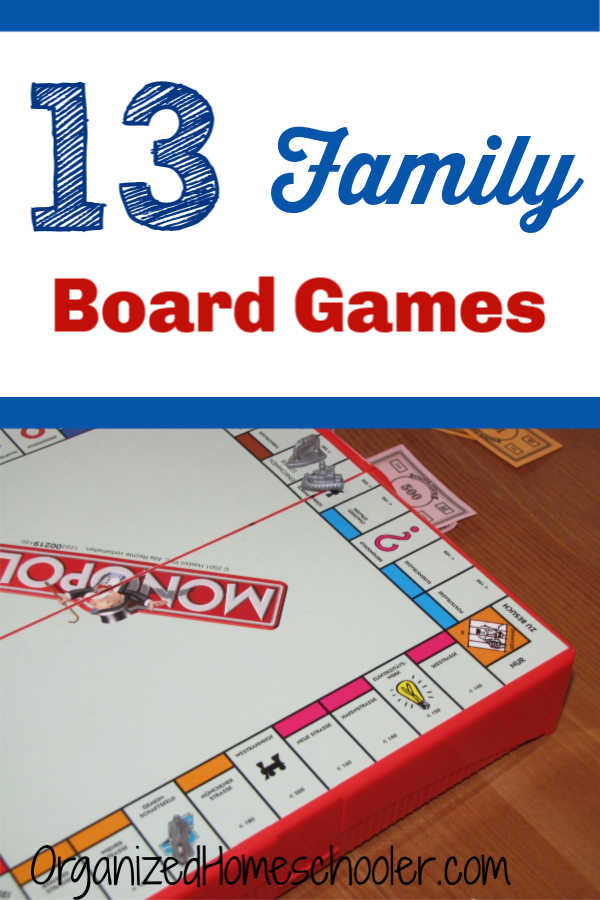 These family board games are a great way to encourage family time! Grab a new game for a family game night. They also make great gifts!
