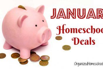 January Homeschool Deals