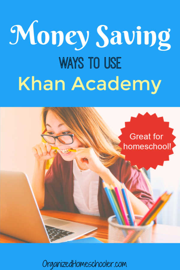 Khan Academy is fantastic for homeschool students. The free online program goes beyond just math. There are so many ways a high school student can use this website.