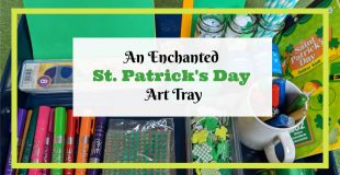 Enchanted St. Patrick's Day Art Tray