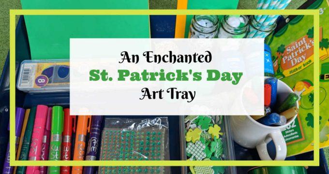 Enchanted St. Patrick's Day Art Tray