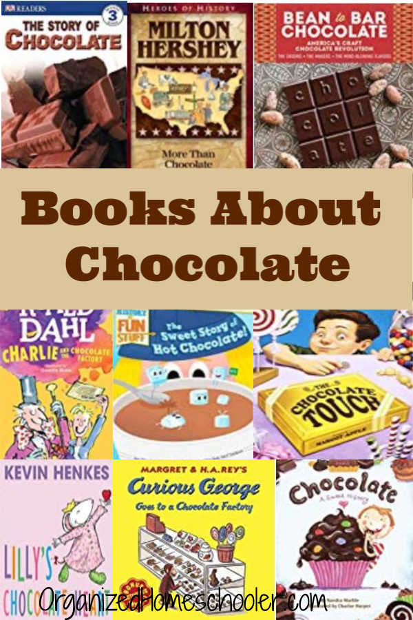 These books about chocolate are perfect for a chocolate unit study.