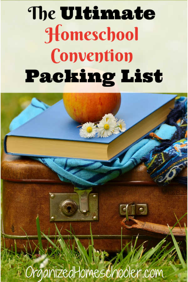 This is the ultimate homeschool convention packing list. Be prepared for an awesome homeschool conference experience!