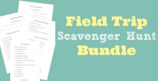 Field Trip Scavenger Hunt Bundle
