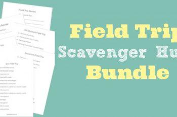 Field Trip Scavenger Hunt Bundle