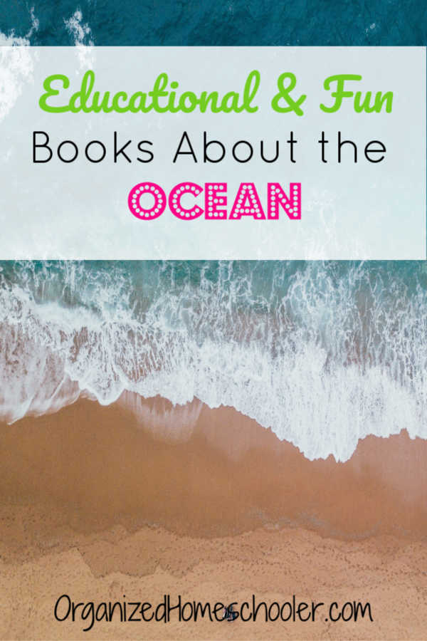 These books about the ocean are great for kids and teens. Read these books before your next beach vacation or aquarium field trip.