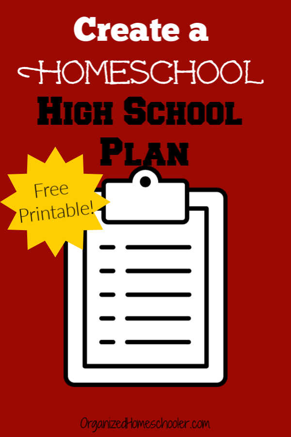 Find out how to create a homeschooling high school plan. Homeschool high school with confidence.