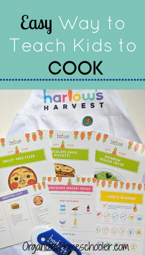 Teaching kids to cook is easy with this kids subscription box. Harlow's Harvest teaches life skills through fun activities and kid-friendly recipes.