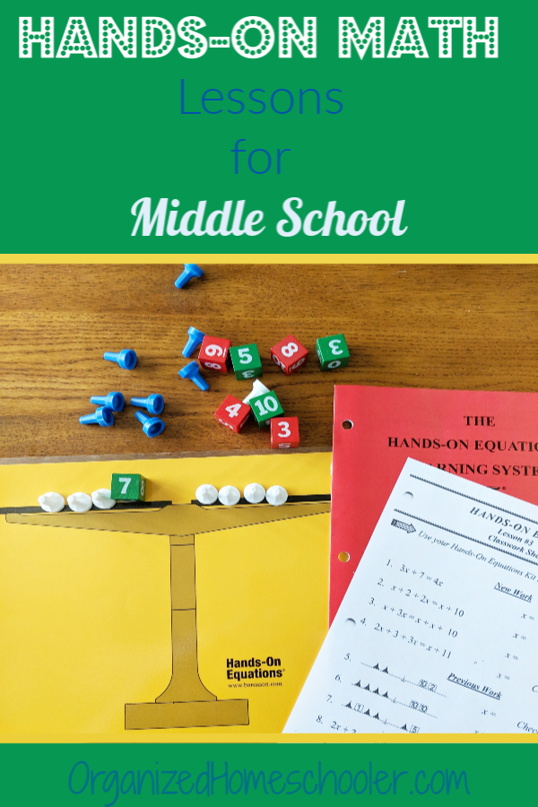 Hands-On Math for Middle School