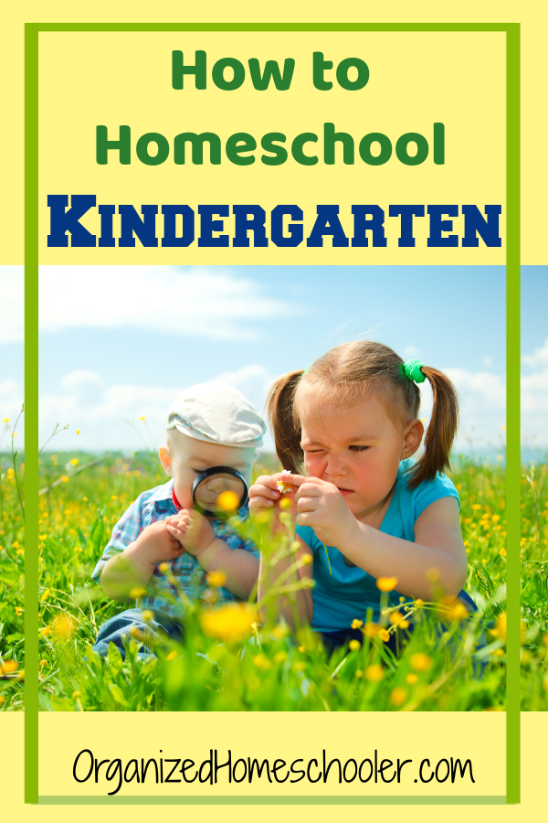 Check out these how to homeschool kindergarten ideas.