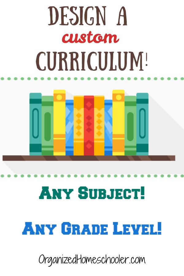 Design a curriculum with these homeschool curriculum development ideas.